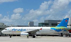 Aruba Airlines arrives in Miami
