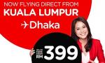AirAsia arrives back in Dhaka