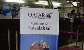 Qatar Airways becomes Faisalabad's second international service