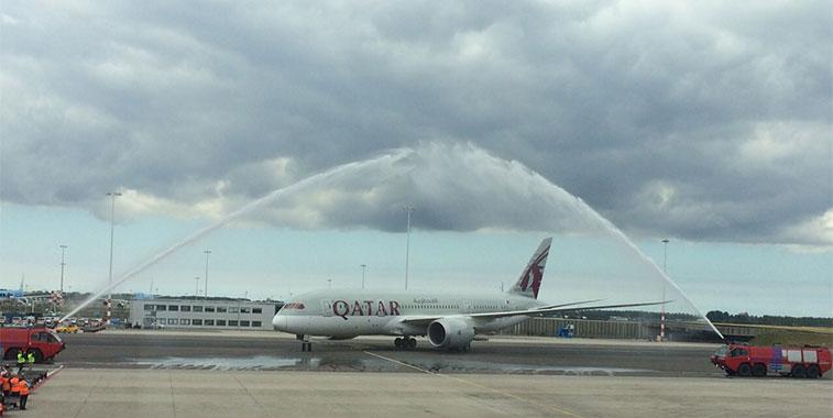 Qatar Airways Doha to Amsterdam