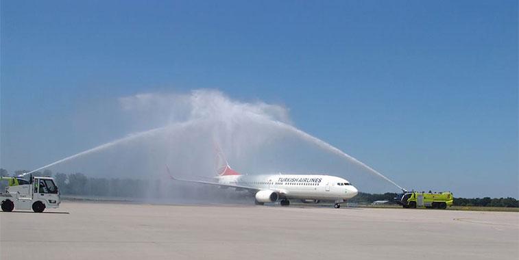 Turkish Airlines Istanbul Atatürk to Karslruhe/Baden-Baden
