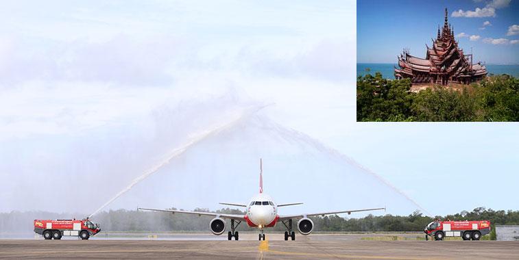 AirAsia Kuala Lumpur to Utapao 15 July