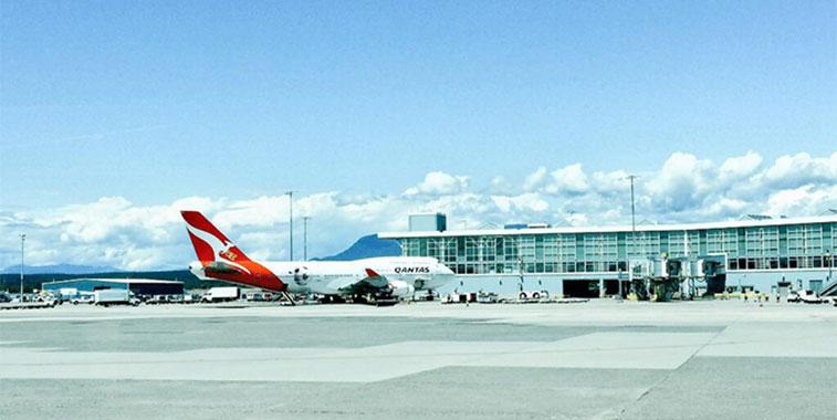 Qantas Vancouver