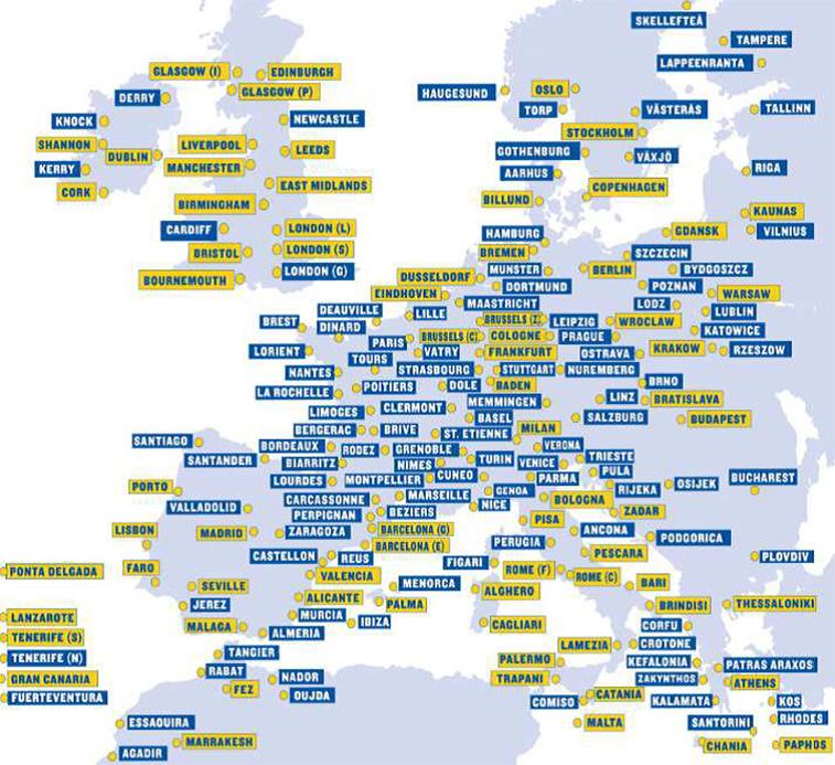 Ryanair to launch amsterdam base for Ryanair barcelona paris orly