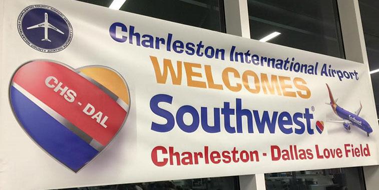 Charleston airport southwest