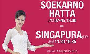 Batik Air joins Lion Air in Singapore