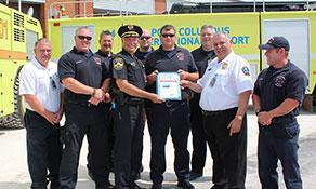 Columbus crew crows over certificate ceremony