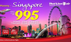Thai Lion Air targets Singapore