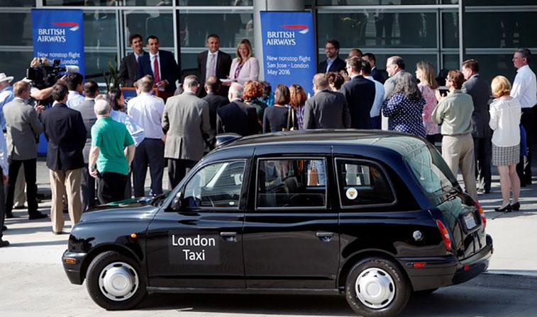 London taxi San Jose