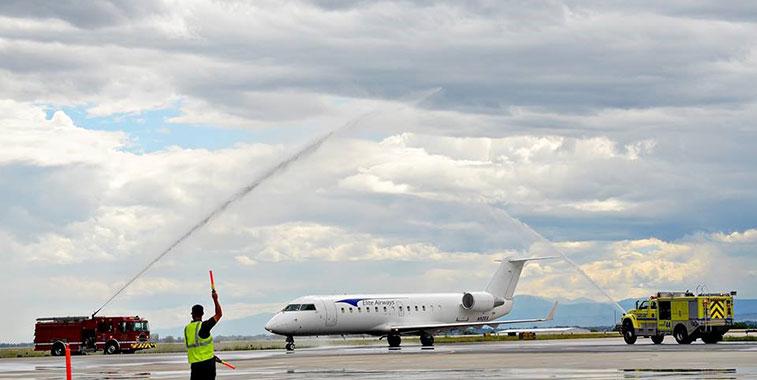 Elite Airways Chicago Rockford to Fort Collins