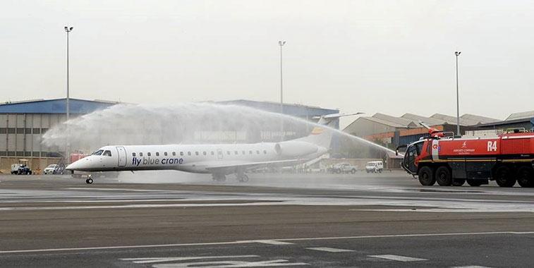 Fly Blue Crane Johannesburg to Kimberley