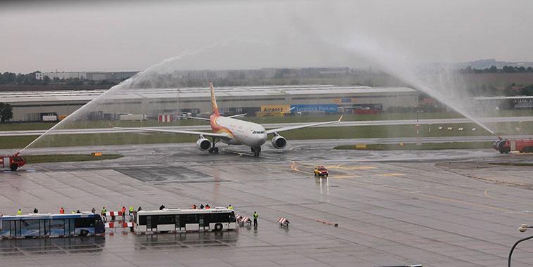 Hainan Airlines Beijing Prague 23 September