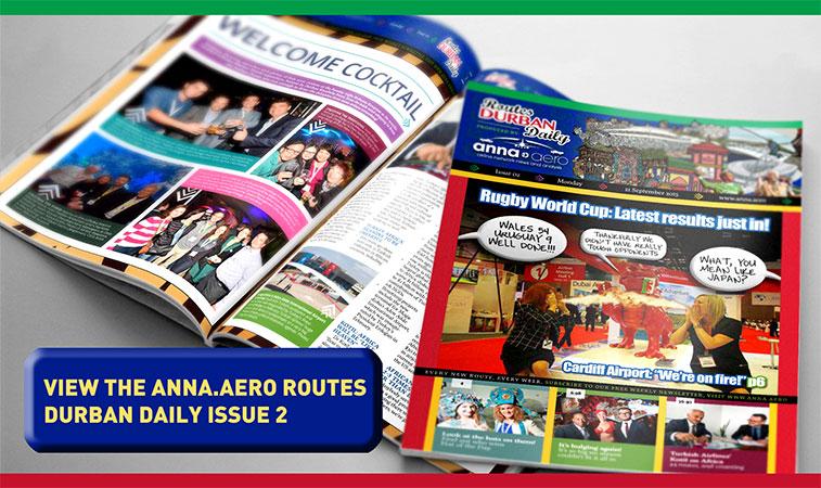 anna.aero Routes Durban Daily - Issue 2