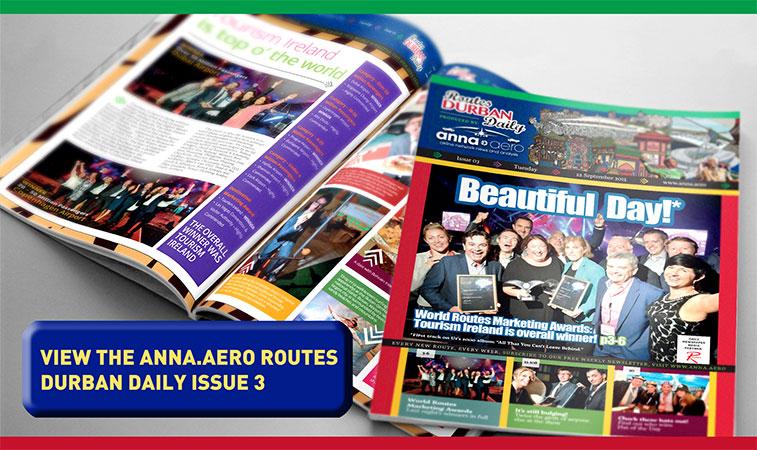 anna.aero Routes Durban Daily - Issue 3