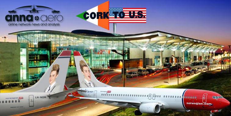 Norwegian Cork Airport Twin US routes