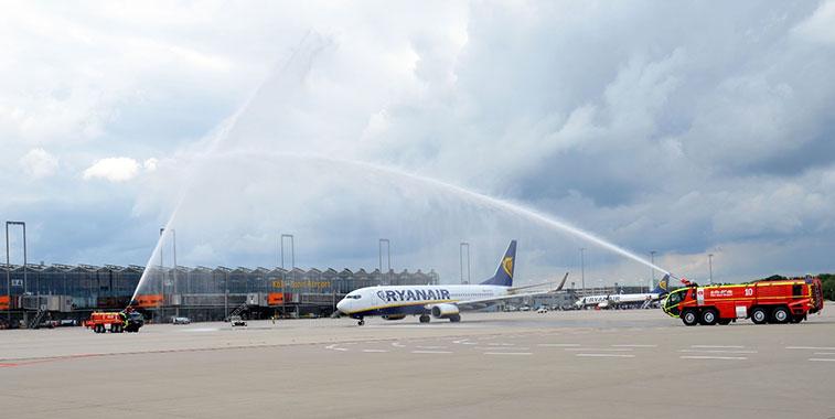 Ryanair Cologne Bonn to Copenhagen