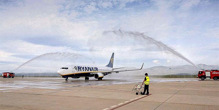 Ryanair London Stansted Castellon 15 September