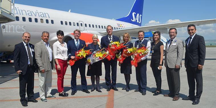 SAS Stockholm Arlanda Ankara Turkey