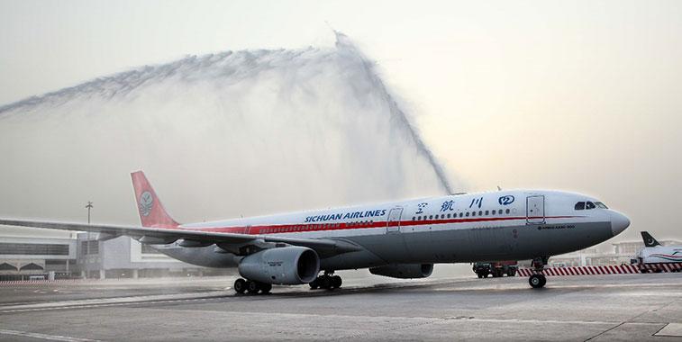 Sichuan Airlines Yinchuan to Dubai