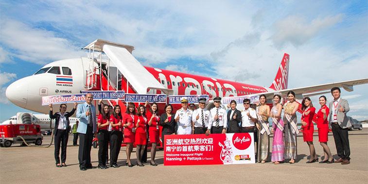 Thai AirAsia Utapao Nanning China