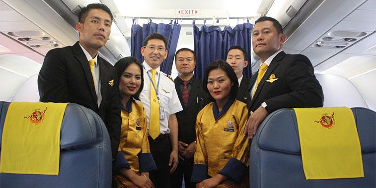 Bhutan Airlines Delivers In Delhi
