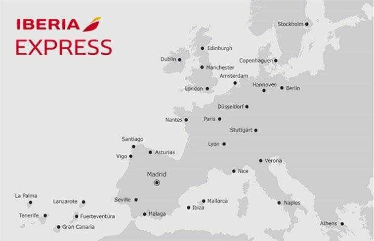 Iberia Express Destinations