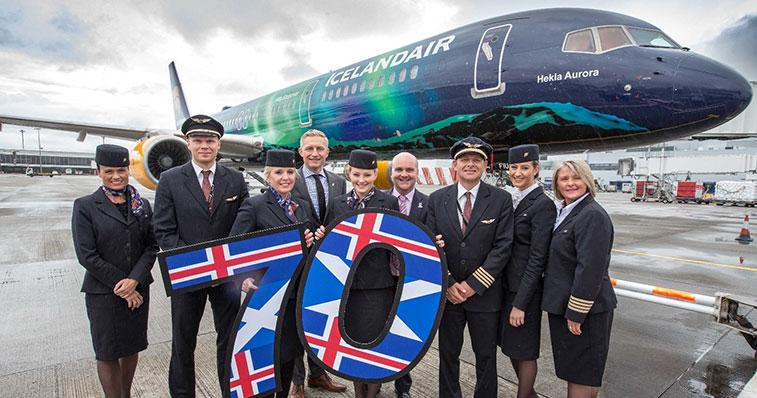Icelandair Glasgow