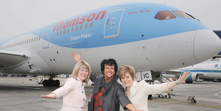 Thomson Airways Glasgow
