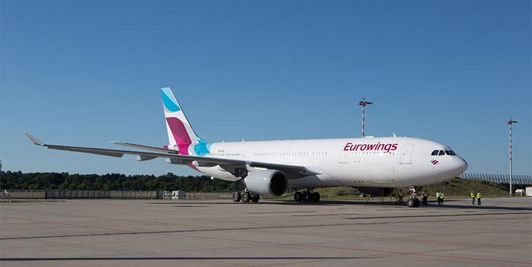 Eurowings germanwings new base Vienna Cologne