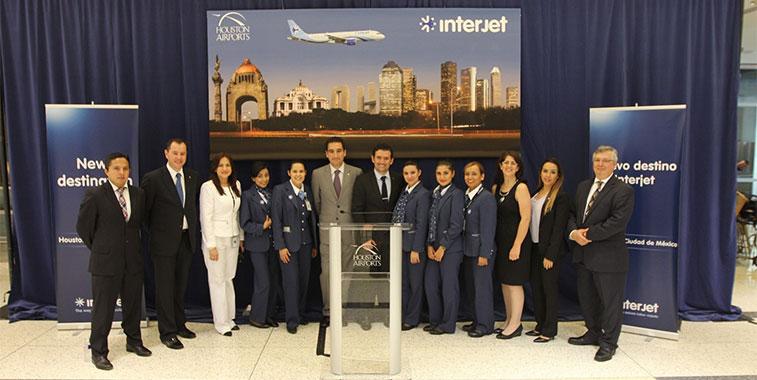 Interjet Houston Intercontinental Airport Mexico City