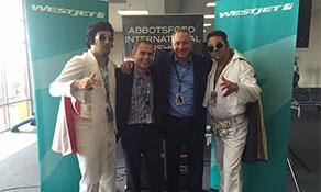 WestJet viva Las Vegas' out of Abbotsford