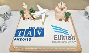 Ellinair introduces services to Izmir