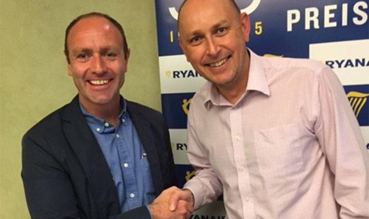Ryanair Kenny Jacobs anna aero Marc watkins