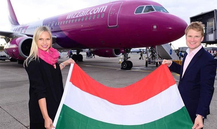 Wizz Air Birmingham Budapest