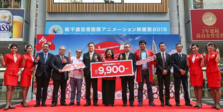 AirAsia X jets off to third Japanese destination