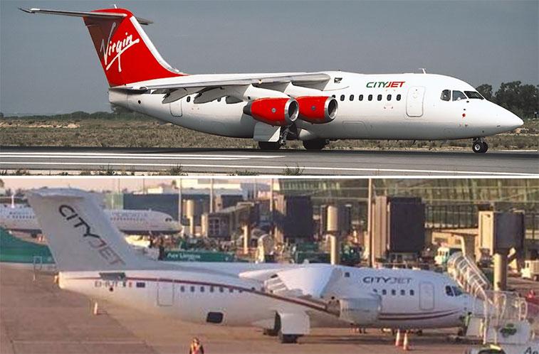 CityJet Planes
