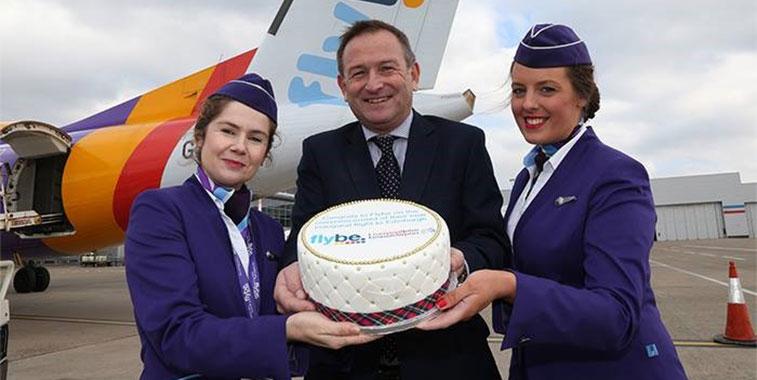 cotw vote Flybe Edinburgh to Liverpool