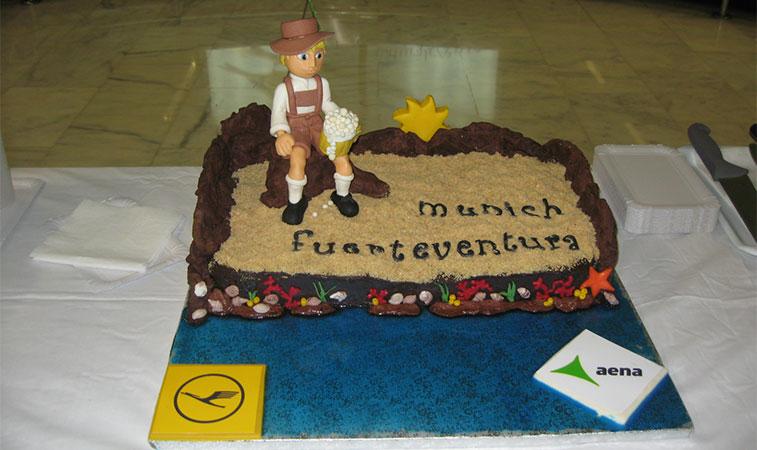 cotw vote Lufthansa Munich to Fuerteventura