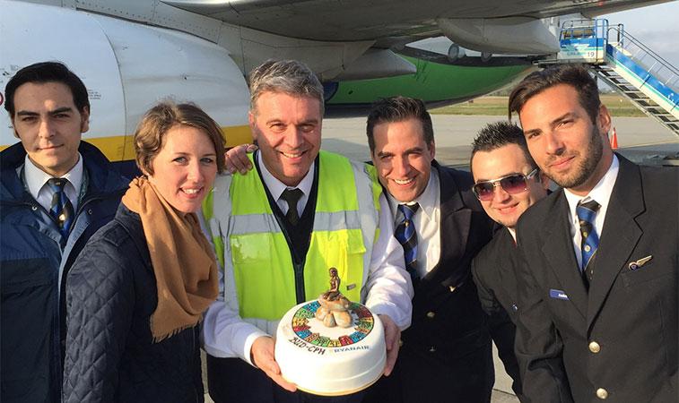 cotw vote Ryanair Budapest to Copenhagen
