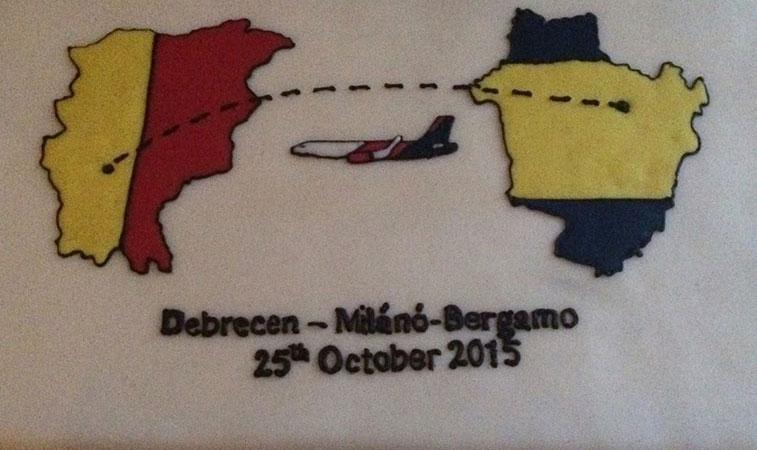 cotw vote Wizz Air debrecen to Milan Bergamo