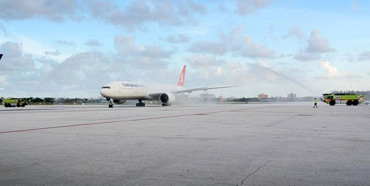 FTWA 16 – Turkish Airlines Istanbul Atatürk to Miami