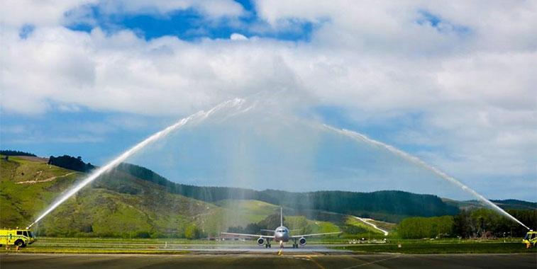 jetstar airways links dunedin with new zealands capital