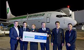 Germania introduces Israeli flights from Düsseldorf