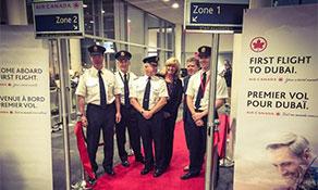 Air Canada debuts Dubai