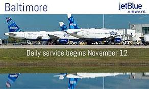 JetBlue Airways bolsters Baltimore/Washington business