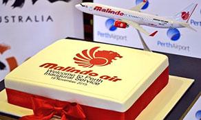 Malindo Air arrives in Australia
