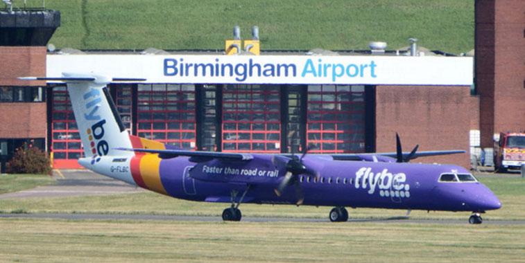birmingham is flybes biggest base