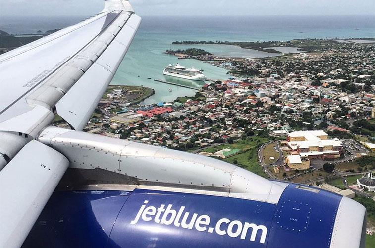 jetblue airways new york jfk to antigua boston and barbados