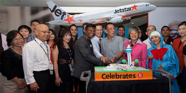 jetstar asia singapore changis fourth biggest airline