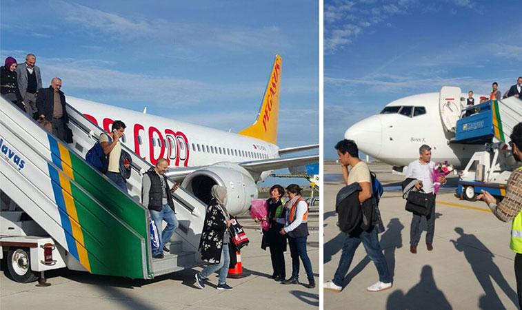pegasus airlines new airport at ordu giresun sabiha gokcen